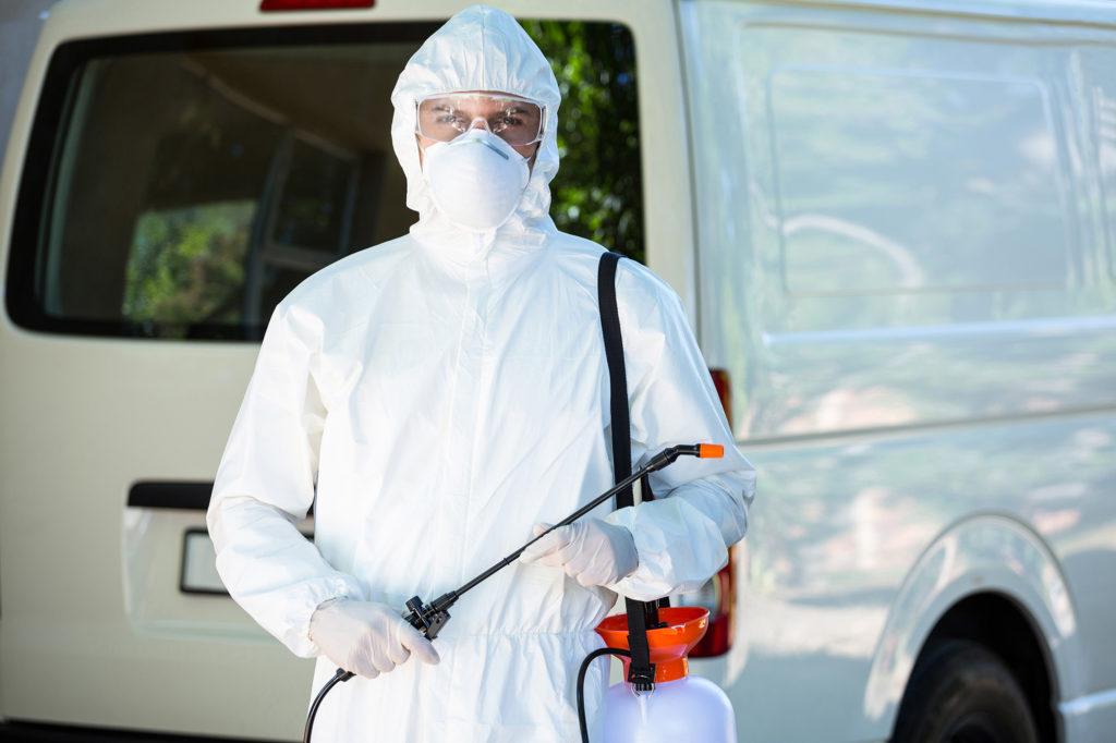 Pest Control Man